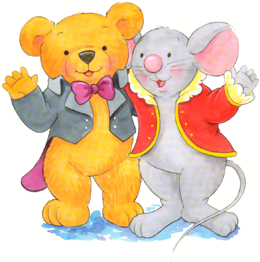 Beethoven Bear and Mozart Mouse